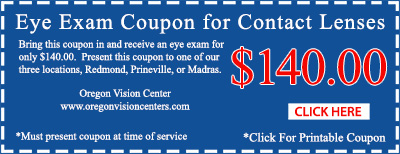 eye exam coupon for contact lenses