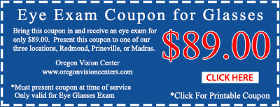 redmond eye exam coupon